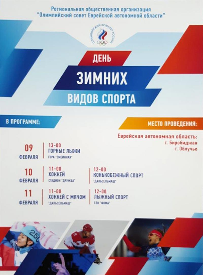 День зимних видов спорта 2018 в ЕАО